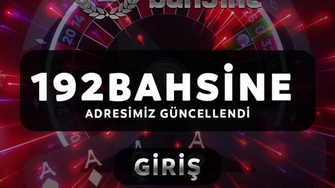 Bahsine192.com